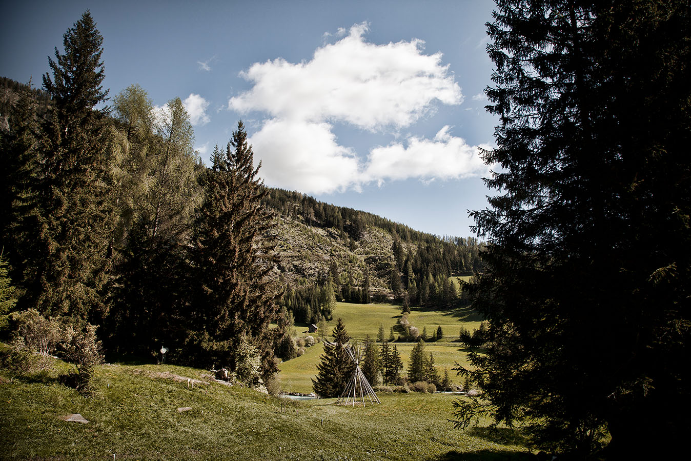 Course for archers in Mauterndorf