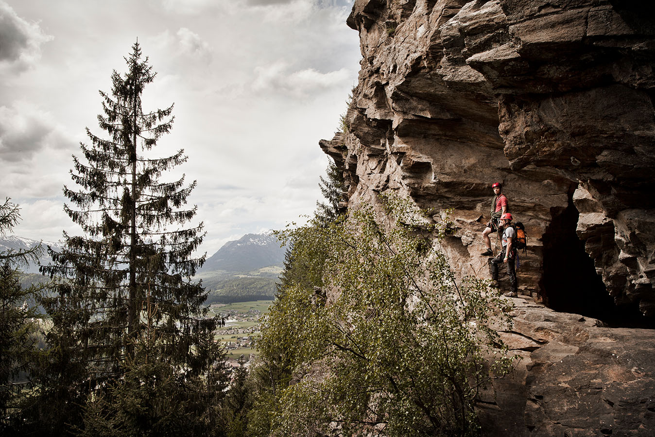 Climbing in the Lungau