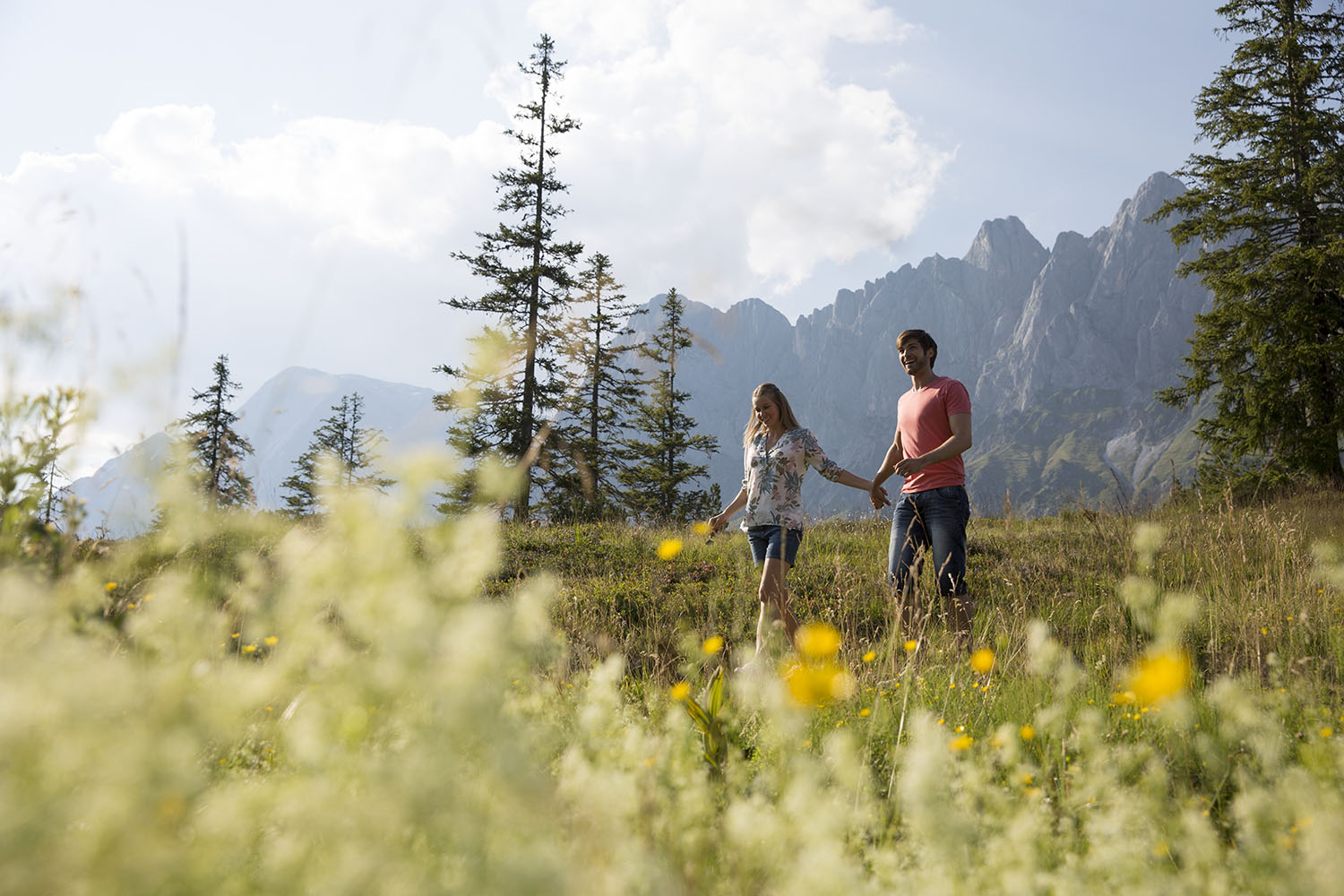 Summer in Salzburger Land - timeouts amid pristine nature